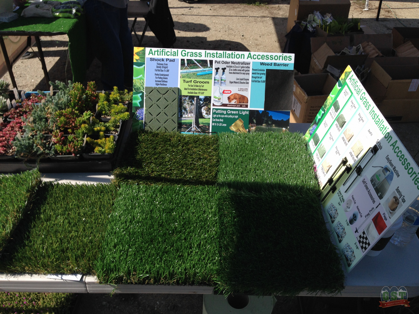 fake-grass Global Syn-Turf Showcases Drought-Tolerant Products at Carmel Valley Garden Show