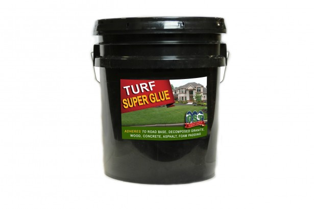 Turf Super Glue 5 Gallons fake grass tools