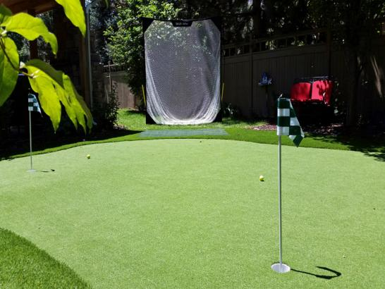 Artificial Grass Photos: Golf Putting Greens Woodmore Maryland Synthetic Grass  Front
