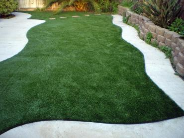 Synthetic Turf Edesville Maryland  Landscape  Pavers Front artificial grass