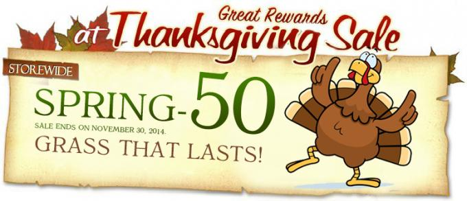 Thanksgiving Sale - Black Friday Countdown! artificial grass