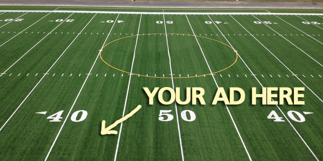 fake-grass School Sells Ad Space on Field Surface to Pay for Synthetic Turf