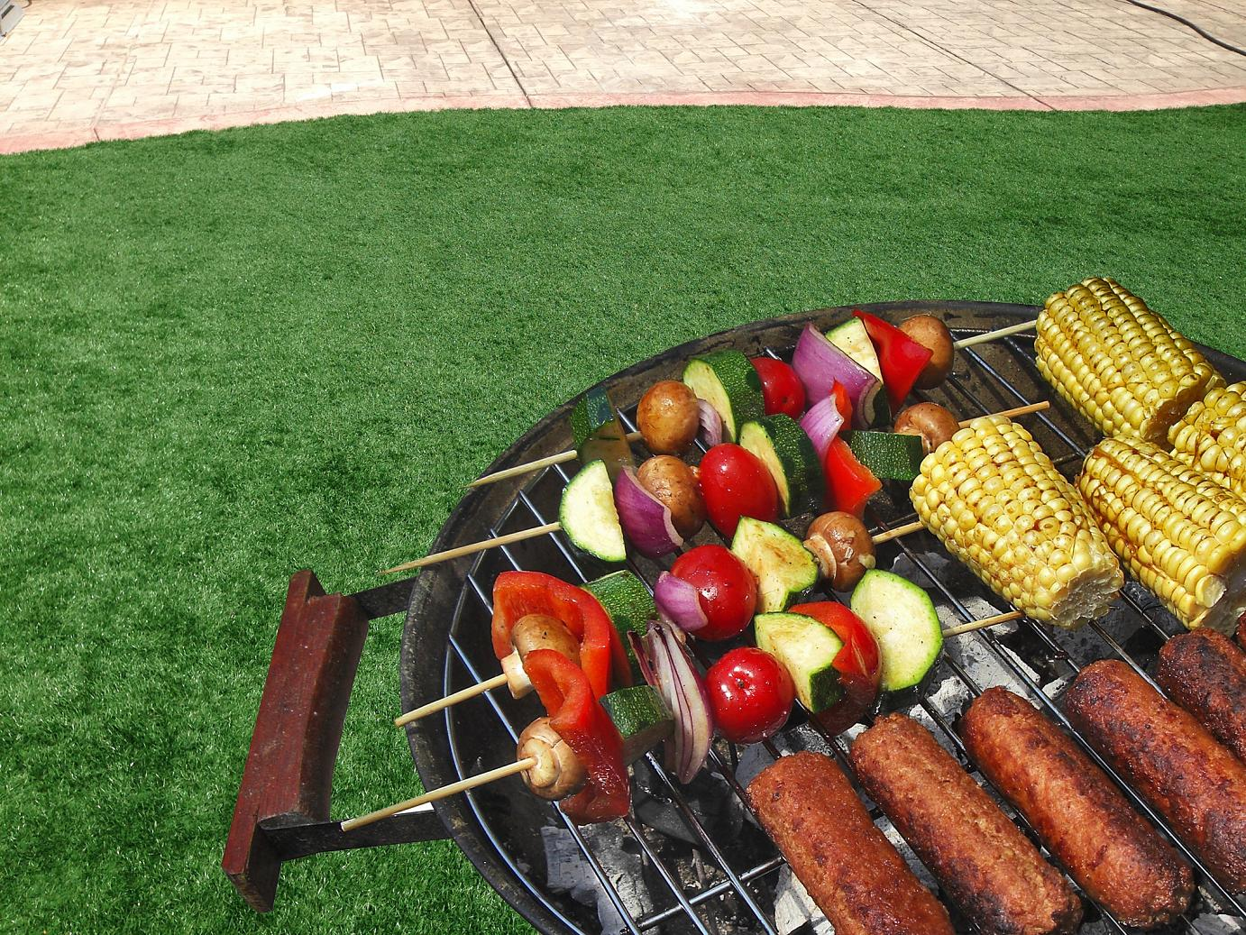 fake-grass Time for a Barbeque!