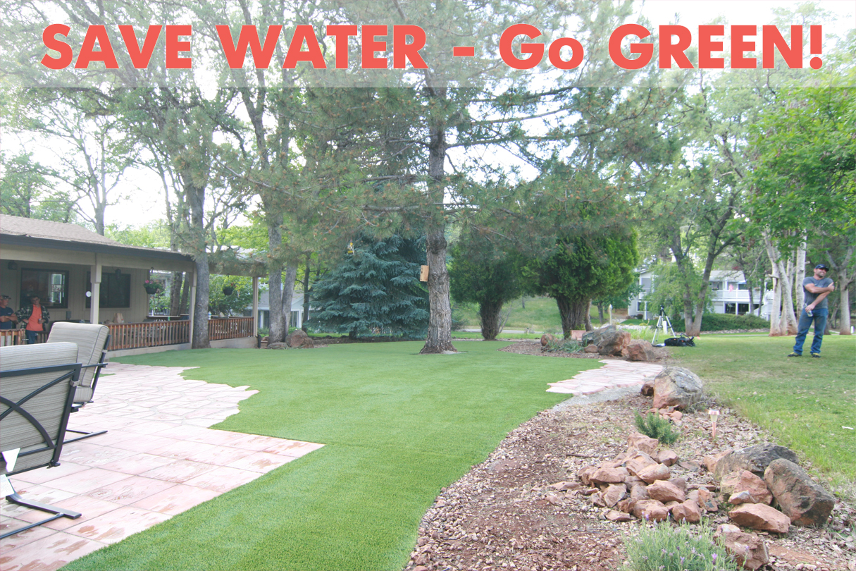 fake-grass Water Conservation